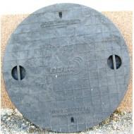 Poklop plastový  PPR 600 mm